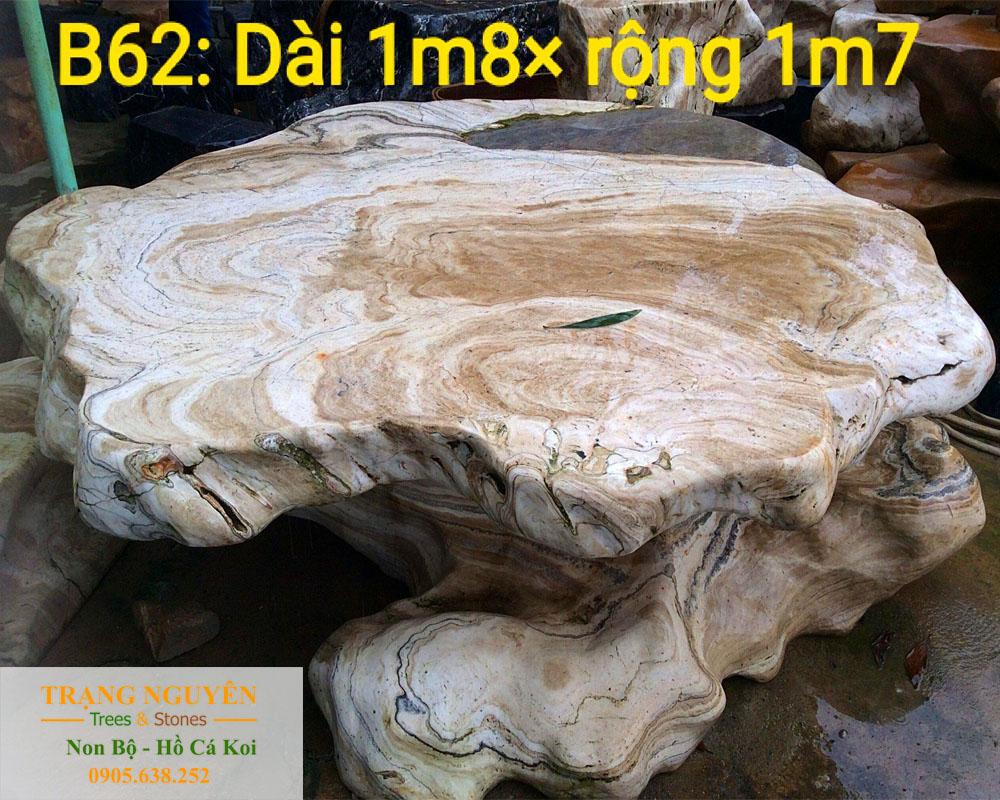 Bàn ghế đá tự nhiên số 14