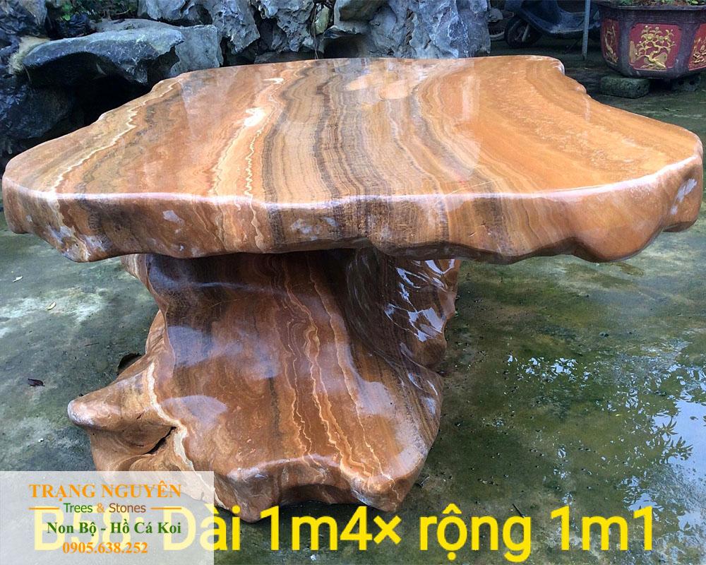 Bàn ghế đá tự nhiên số 15