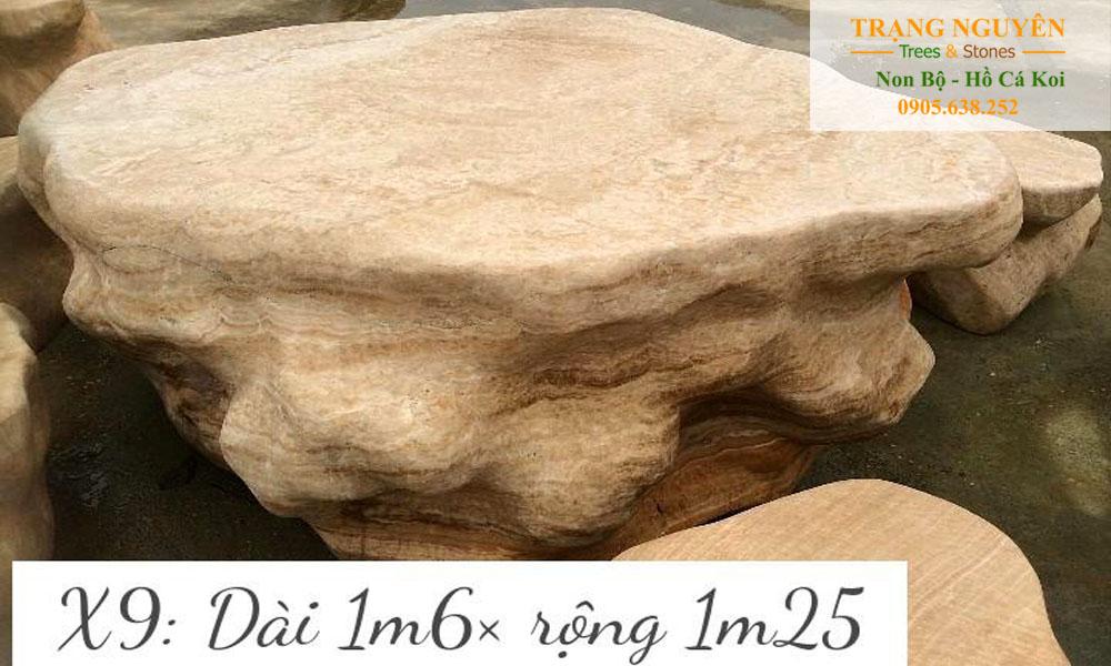 Bàn ghế đá tự nhiên số 21