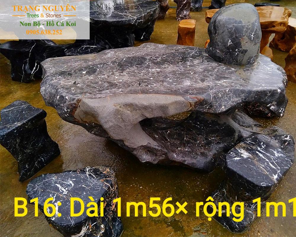 Bàn ghế đá tự nhiên số 40