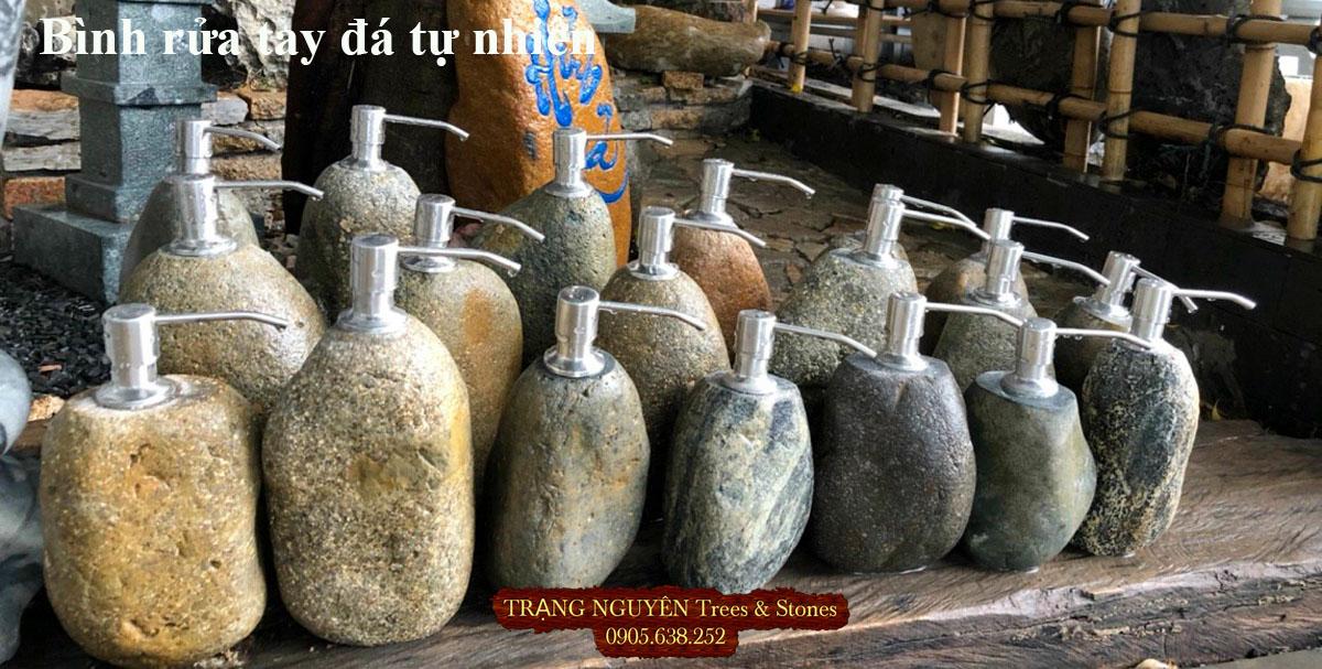 Bình rửa tay bằng đá