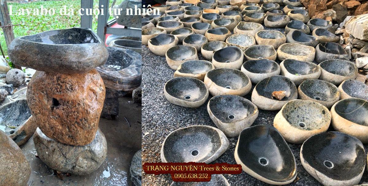 Bồn rửa tay đá tự nhiên