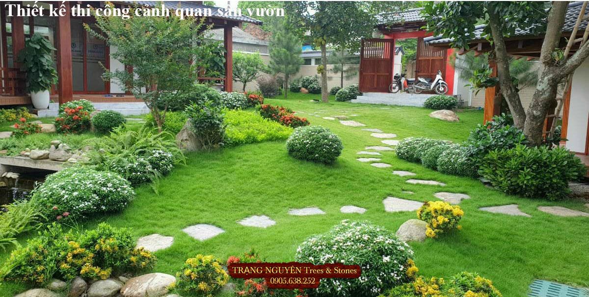 Thiết kế trang trí sân vườn