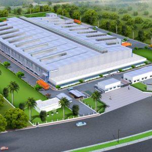 Thiết kế trồng cây xanh cho nhà máy